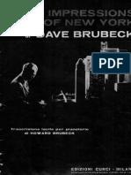 Dave Brubeck - Jazz Impressions of New York