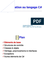 2. Introduction Au Langage C#