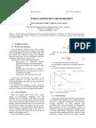 Absorption Coefficient Measurement