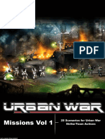 Urban War Missions Vol 1