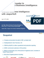 Web 2.0 Business Intelligence with JasperSoft