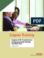 Cognos 8 BI Transformer Designing OLAP Models (Part 2)