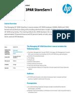 HP 3par Storeserv1