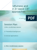 3rd Wave CBT and Mindfulness