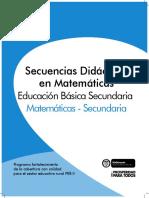 Secuencias Estadistica Sec.