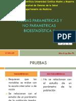 Pruebas Parametricas y No Parametricas
