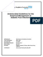 UHL Antimicrobial Guidelines Diabetic Foot Infections