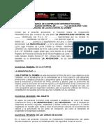 Modelo Convenio Marco Liga Municipalidad