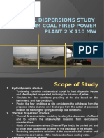 Thermal Dispersions Study