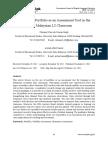 Portfolio Assessment in Malaysia