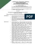 Sk Tim Akreditasi PKM Blimbing Gudo