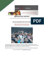 @fterschool Advisor - Arizona Center for Afterschool Excellence Newsletter - April 15, 2010