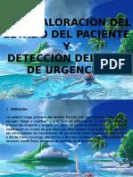 1.3.3 Valoracion Del Estado Del Paciente y Deteccion Del Tipo de Urgencias