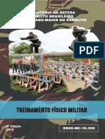 Novo manual de Treinamento Físico Militar
