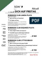 TUI Austria ROBINSON Aktuell