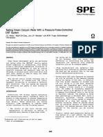 SPE 00022720 Pressure Pulse Controlled DST System Iris Valve
