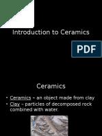 introduction to ceramics slides