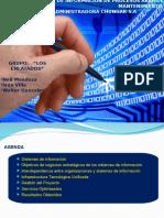 Los Enlatados - Sistemas de Información de Procesos en Area de Mantenimiento Chungar s.a (1)