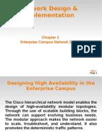 Enterprise Campus Network Design