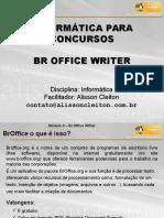 Módulo II – Br.office Writer