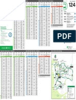 Transperth Bus Timetable 124