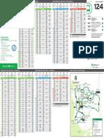 Transperth Bus Timetable 124