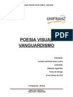 Poesia Visual Vanguardismo