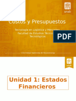 Unidad 1- Estados Financieros