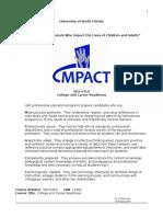 UNF- College & Career Readiness Syllabus