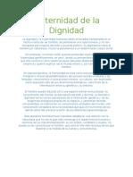 Fraternidad de La Dignidad Español & Ingles