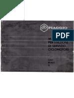Manuale per stazioni di servizio ciclomotori Piaggio