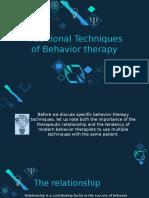 Behavior Therapy Powerpoint