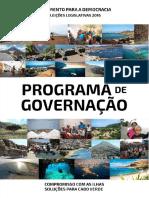 MpD Programa de Governo