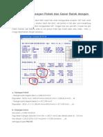 Perhitungan Tulangan Pokok Dan Geser Balok Dengan SAP2000 Structure