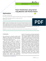 Fault Diagnosis of Power Transformers Using Kernel
