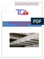 Flamebar BW11 - Fire rated ductwork document