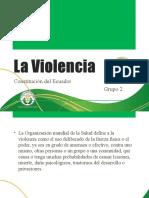 La Violencia y La Constotución de La Republica del Ecuador
