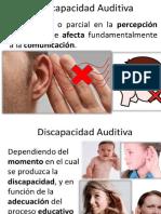 discapacidad auditiva ppt