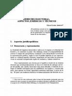Derecho Electoral Aspectos Juridicos y Tecnicos (Landa)