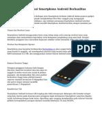 Trik Cara Menyeleksi Smartphone Android Berkualitas