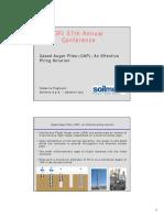CASe Auger Piles - 01 Pagliacci