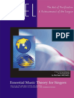 Essential Music Theory for Singers