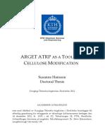 ARGET ATRP Una Herramienta Para La Modificacion de La Celulosa Tesis(1)