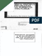 Roman Rosdolsky - Friedrich Engels y El Problema de Los Pueblos ''Sin Historia''