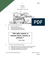 Mock Test 2 - Questions for Paper 2-Perak