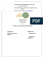 266240882 Project Report on DERIVATIVES