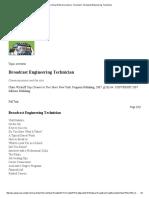 Broadcast Engineering Technician