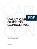 Vault Career Guide to Consulting 2002-09