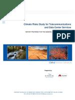 GSA Climate Risk Study for Telecom and Data Centre