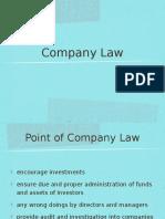 BUS 360 Company Law